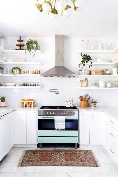 Unexpected Pops of Color in Appliances