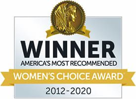 Women's Choice Award 2012-2020 Winner