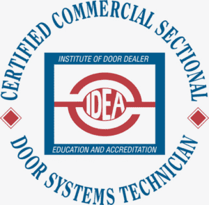 Certified Commercial Sectional Door Systems Technician